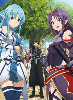 Sword Art Online II (part 2), offcial art