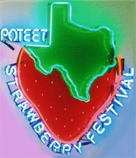Poteet Strawberry Festival, Apr 12-14, 2013 - Exciting events, contests, and carnival fun! - The best strawberries in the world come from Poteet.