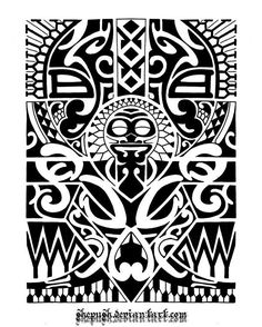Lower arm tribal 1 by shepush.deviantart.com on @deviantART