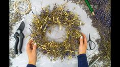 Boy Diy Crafts, Diy Crafts For Adults, Fall Crafts, Decor Crafts, Home Decor, Christmas Diy, Christmas Wreaths, Christmas Decorations, Autumn Decorations