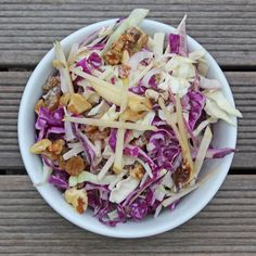 Detox Apple Cabbage Salad from Fit Sugar