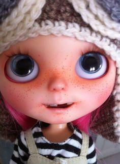 Blythe Doll with Big Eyes