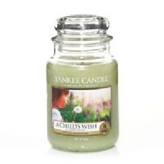 Yankee Candle A Childs Wish Housewarmer Jar