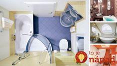 33 geniálnych riešení pre malé kúpeľne!