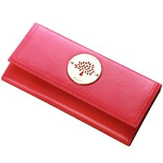 Mulberry Womens Daria Contential Purse Red 8462-571RED