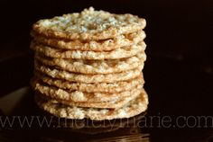 March 18 - Lacy Oatmeal Cookie Day