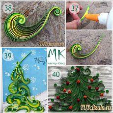 Новогодние открытки. Идеи + МК » Дизайн & Декор своими руками