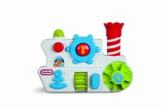 Little Tikes Bath Boat Play by Little Tikes. $16.99. From the Manufacturer                The Little Tikes Playful Basics line introduces children to developmental play patterns that encourage learning and discovery through active, social and creative play. Steering wheel, paddle wheels, horn, and detachable chimney bucket squirt and splash water for bath time fun.                                    Product Description                The Little Tikes Playful Basics line intro...