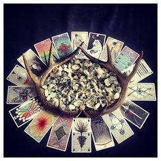 Electric Love's portrait of The Wild Unknown Tarot Deck.