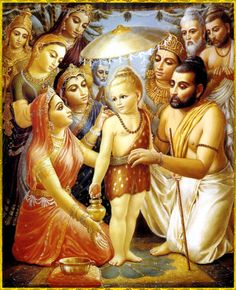 """✨ Happy Vamanadeva appearance day ✨  Lord Vamanadeva said:  """"The entirety of whatever there may be within the three worlds to satisfy one's senses cannot satisfy a person whose senses are uncontrolled.""""~Srimad Bhagavatam 8.19.21"""