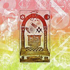 Painting - Freemason, Mason, Masonic Symbolism by Esoterica Art Agency , Masonic Art, Freemason, Illuminati, Occult, Greeting Cards, Symbols, Wall Art, Painting, Watches