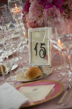 #Pink  #wedding #china #antique #placesetting