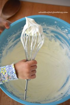 Sweet and creamy white chocolate ganache wpipped cream is perfect for any recipe where you'd use whipped cream. It also makes a wonderfully light and airy frosting for cakes and cupcakes. It's also gluten-free. From What The Fork Food Blog.