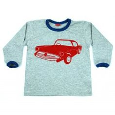 Monstar Kids LS Tee Grey Marle – Vintage Car, $32.50 LESS 20% = $26.36