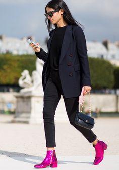 Geschmacksache // <br/> Glitter Schuhe à la Saint Laurent machen oder sein lassen?