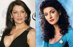 Marina Sirtis plays the brothel Madame.