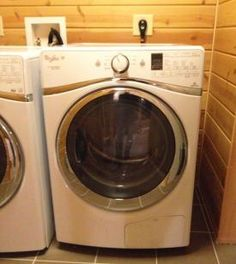 Photo of a Whirlpool heat-pump clothes dryer
