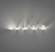 Set wall lamp designed by Xuclà. http://www.vibia.com/en/lamps/show/id/77491/wall_lamps_set_7749_design_by_xucla.html?utm_source=pinterest&utm_medium=organic&utm_campaign=wallarts&utm_content=en&utm_term=