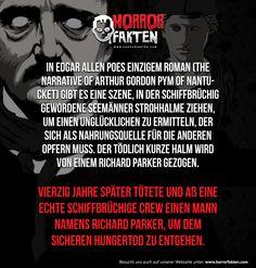 Edgar Allen Poe Fans? #horrorfakten