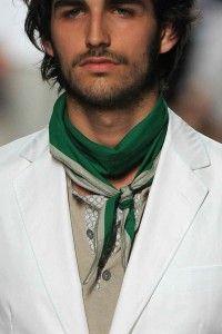 Styling neckerchief for men