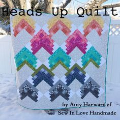 Heads Up Quilt | Moda Bake Shop | Bloglovin'