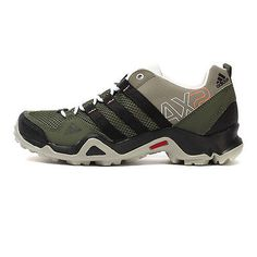 Adidas AX2 Womens M29342 Green Black Hiking Shoes Trail Sneakers Wmns Size 8.5