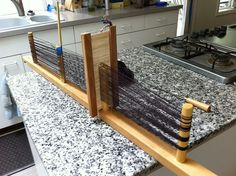Warping a rigid heddle for backstrap weaving, NOTE: This is a reed heddle for keeping the warp spaced for balanced weave. It is not a slot and hole heddle. You will still need your string heddles. On Ravelry. by jweaves, via Flickr