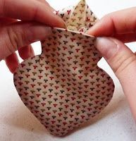 Riciclo Creativo - Craft and Fun: Cuori di lavanda, tutorial