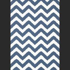 Papiers peints Downing Gate - Navy Blanc, Bleu   Color   Marine ...