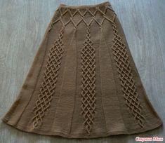длинная вязаная юбка спицами: 21 тыс изображений найдено в Яндекс.Картинках