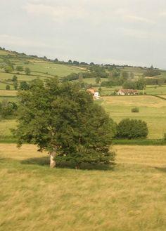 French countryside via FleaingFrance