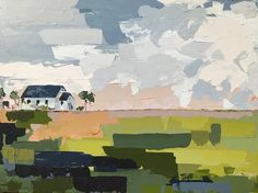 Abstract landscapes by Adele Yonchak | Charlotte, NC artist