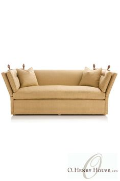 Henry House's collection of custom, quality upholstered sofas. Outdoor Sofa, Outdoor Furniture, Outdoor Decor, Transitional Sofas, Upholstery, Couch, Home Decor, Tapestries, Settee