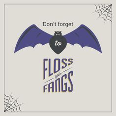 MAKE SURE YOU'RE flossing those fangs, especially after eating all that Halloween candy! #smile #dentist #DrTrivedi #PDC #preferreddentalcare #queens #flushing #manhattan #chelsea #nyc #halloween #flossyourfangs
