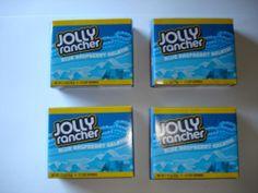 JOLLY RANCHER Gelatin Blue Rasberry Lot Great For Jello Shots Summertime Dessert #JollyRancher