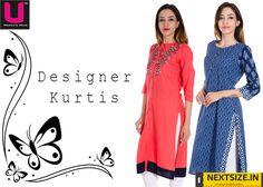 Designer #Kurtis at affordable prices. Here :www.nextsize.com