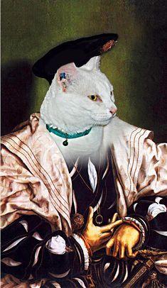 8e4b0be32ab8 The Aristocat (or dog) - Custom Pet Portraits - Dog Portraits / Cat  Portraits - Digital personalized portrait painting using your pet Photo
