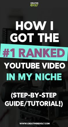 Learn EXACTLY (step-by-step!) how I got the #1 ranked video on YouTube! This guide will teach you YouTube tips like YouTube SEO, how to get YouTube views, how to get YouTube subscribers, and more! Check it out. :) YouTube tips YouTube hacks YouTube