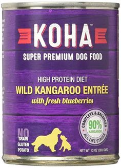 KOHA Can Kangaroo Dog Food 12 Pack 132 oz -- Click image for more details-affiliate link.
