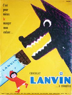 Herve Morvan  Lanvin Chocolat 1961