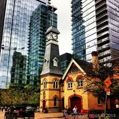 Old fire hall Yorkville..Toronto