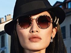 Dolce & Gabbana Eyewear FW 2019 Ad Campaign Lensed by Branislav Simoncik Dolce And Gabbana Eyewear, Dolce Gabbana, Milan, Round Sunglasses, Sunglasses Women, Chanel, Campaign, Retro, Fashion
