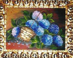 Tela pintada por Núbia Siqueira
