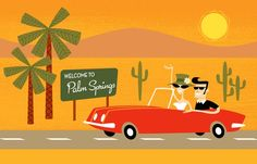 Follow along with our labor day road trip in palm springs