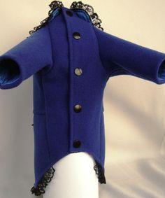 Cashmere dog coat. Cute dog coat. Dog jacket. by PetsSecretShop