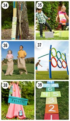 6 Outdoor Games for Kids