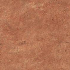 The Wallpaper Company 56 sq. ft. Orange Leather Like Wallpaper