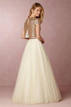 Ahsan Skirt in Bride Bridal Separates Skirts at BHLDN