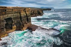 Yesnaby Cliffs / Orkney Islands