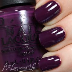 OPI Fall 2014 – Nordic Collection Swatches and Review - Skating On Thin Ice-land